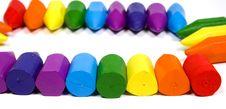 Free Close Up A Rectangular Double Rainbow Stock Photography - 8641962