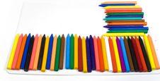 Free Many Wax Pencils Stock Photography - 8642412