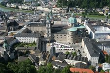 Free Historical Center Of Salzburg Stock Photo - 8642710