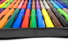 Free Color Felt-tip Pens Stock Images - 8642854