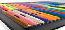 Free Children S Felt-tip Pens Stock Images - 8642984