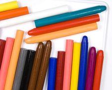Free Children S Oil Pencils Stock Images - 8643054