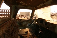 Free Rusty Truck Stock Photography - 8643172
