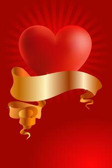 Free Love Postcard Stock Photography - 8643292