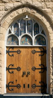 Free Church Door Stock Photography - 8644022