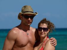 Free Loving Couple. Stock Photography - 8644122