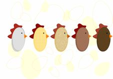 Free Chickens Stock Images - 8644124