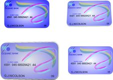 Free Bank Card Stock Photography - 8644342