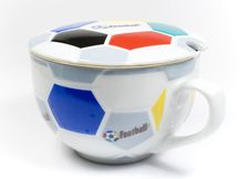 The Mug Of The Football Fan Royalty Free Stock Images
