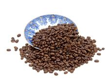 Free Coffee Beans Royalty Free Stock Image - 8645436
