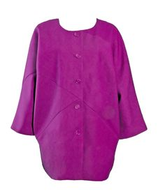 Free Violet Dress Jacket Coat Stock Photography - 8645862