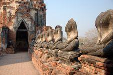 Free Headless Buddhas Stock Images - 8646084