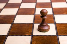 Free Pawn On Chessboard Stock Photo - 8646910