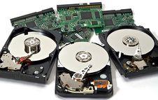 Hard Disk For Computor Stock Photo