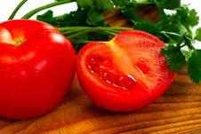 Free Tomato And Coriander Stock Photos - 8646933