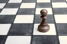 Free Pawn On Chessboard Stock Images - 8646954