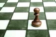 Free Pawn On Chessboard Stock Photos - 8646963
