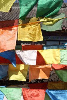 Free Prayer Flag Stock Images - 8647124