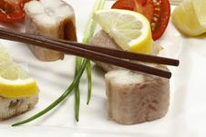 Free Fish Appetizer Stock Photo - 8647300