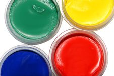 Free Colored Paints Royalty Free Stock Photos - 8648638