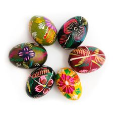 Free Traditional Easter Eggs Royalty Free Stock Photo - 8649035