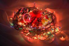 Free Illuminated Easter Basket Stock Photography - 8649092