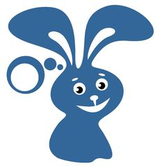 Happy Rabbit Royalty Free Stock Photography