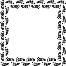 Free Footprint Frame Stock Images - 8649634