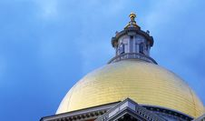 Free State House Dome Stock Photography - 86467812