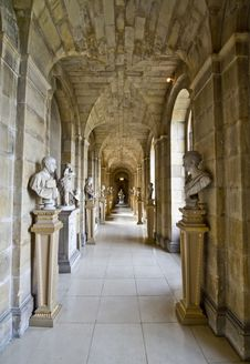Free Castle Howard Antique Passage Stock Photography - 86467982