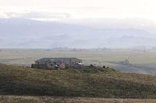 Free House On Hilly Farmland 1 Stock Photos - 86468473