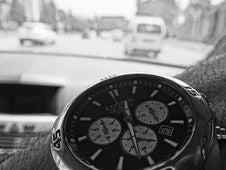 Free Closeup Of Citizen Quartz Watch Stock Photography - 86472272