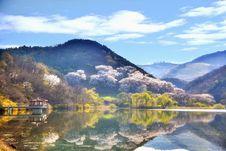 Free Rural Lake In Hillside, Korea Royalty Free Stock Photography - 86472357