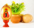 Free Easter And Religion - Painted Egg And Ornaments Royalty Free Stock Photo - 8650195