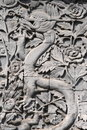 Free The Dragon Was Carved Out Of Stone Royalty Free Stock Photos - 8658318