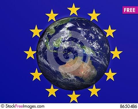 European Earth Stock Photo