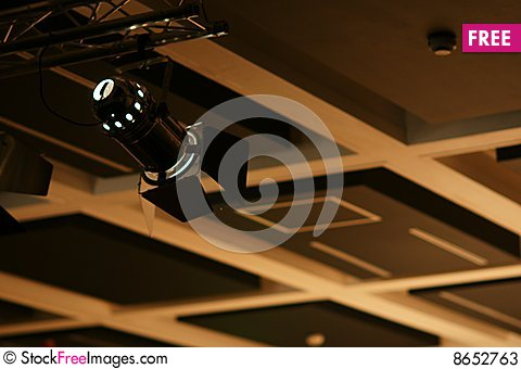 Free Stage Reflector Stock Photos - 8652763