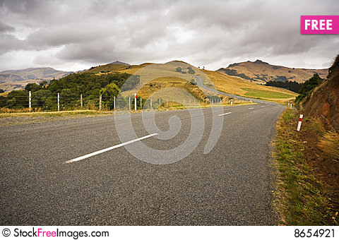 Free Country Road Stock Image - 8654921
