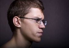 Man In Glasses Royalty Free Stock Image
