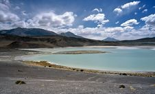 Free Blue Lake In Bolivia,Bolivia Royalty Free Stock Photo - 8651815