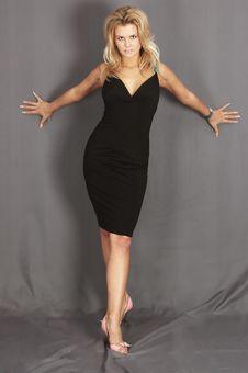 Free Sexy Blond Girl Stock Photos - 8652193