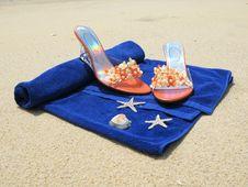 Free Beach Scene Royalty Free Stock Photography - 8652327