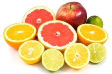 Free Mixed Fruits Royalty Free Stock Image - 8652926