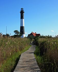 Free Fire Island Lighthouse Royalty Free Stock Photos - 8653978