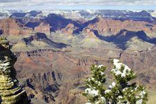 Free Grand Canyon Winter Stock Photos - 8653993