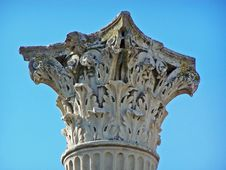 Free Pompeii Corinthian Column Stock Photo - 8654070