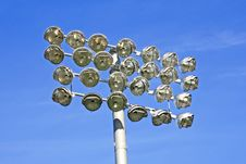 Free Stadium Lights Stock Images - 8654084