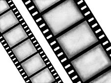 Free Black And White Filmstrips Royalty Free Stock Images - 8654319