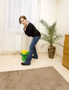 Free House Cleaning Stock Photo - 8654810