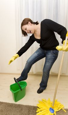 Free House Cleaning Stock Photography - 8654832